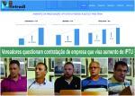 Vereadores questionam a contratação de empresa que visa o aumento da arrecadação através do IPTU