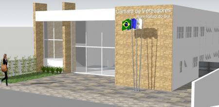 Na próxima semana será lançado o edital para a retomada das obras do prédio da Câmara de Vereadores