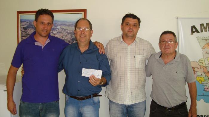 Vereador PC, Sec. Jorge, Sec. Claudio e Dir. Jair