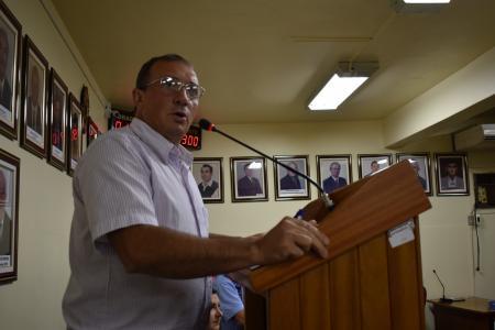 Vereador Presidente Airton Giacomini