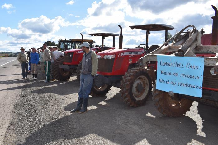 Manifestação Agricultores