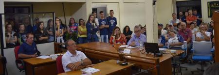 Vereadores de Bom Retiro do Sul apoiam professores da Rede Pública de Ensino